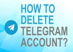 Feature image for how to delete Telegram account