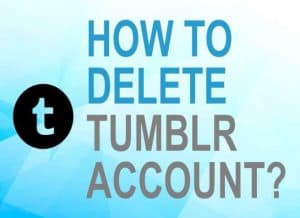 Feature image for how to delete Tumblr account