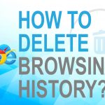 How to delete browsing history?
