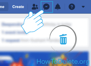 Facebook message removal