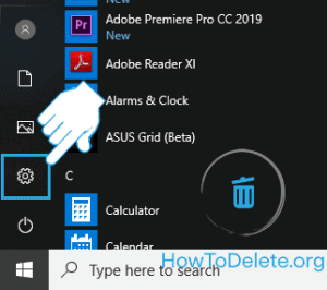 Windows 10 desktop setting