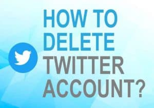 Feature image for how to delete Twitter account