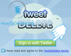 Tweetdelete to delete all tweets at once