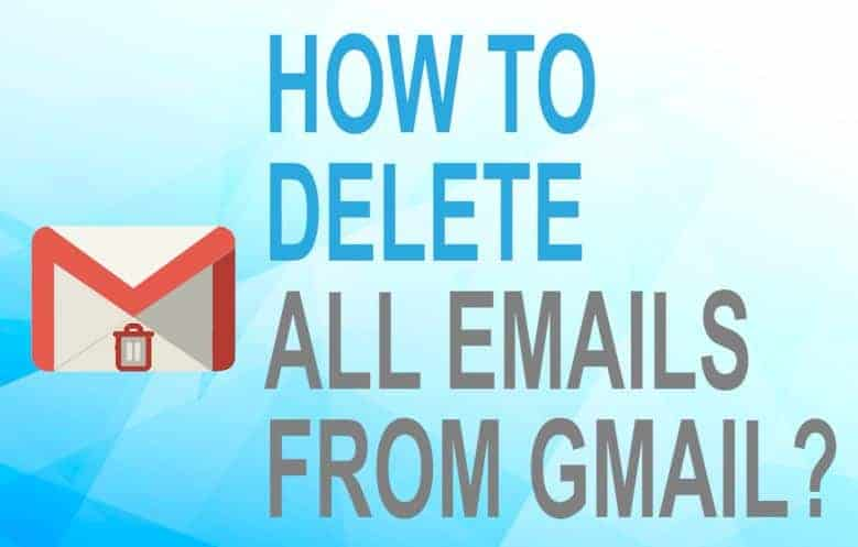Feature image for how to delete all emails from Gmail