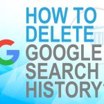 How to delete Google search history?