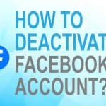 Deactivate Facebook account?