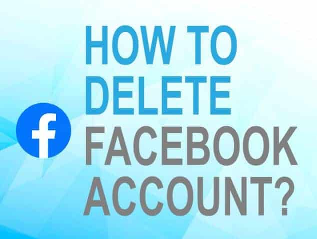 Feature image for how to delete facebook account