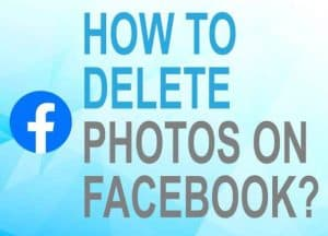 Feature image for how to delete photos on Facebook