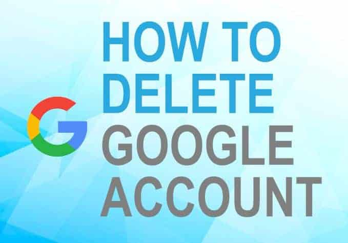 Feature image for how to delete Google account