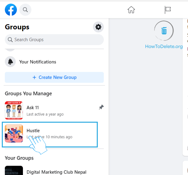 Select your Group