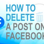 How to delete a Post on Facebook?