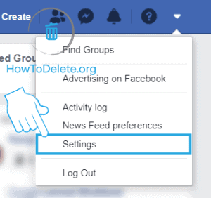 deactivate fb from web