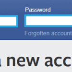 facebook login to delete account