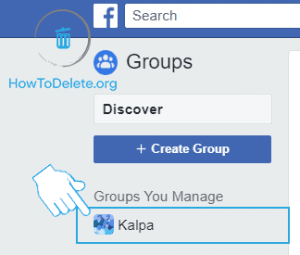 delete facebook group permanently