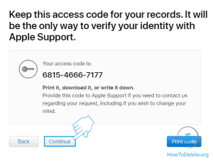 terminate apple id