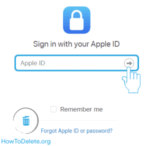 deactivate apple id