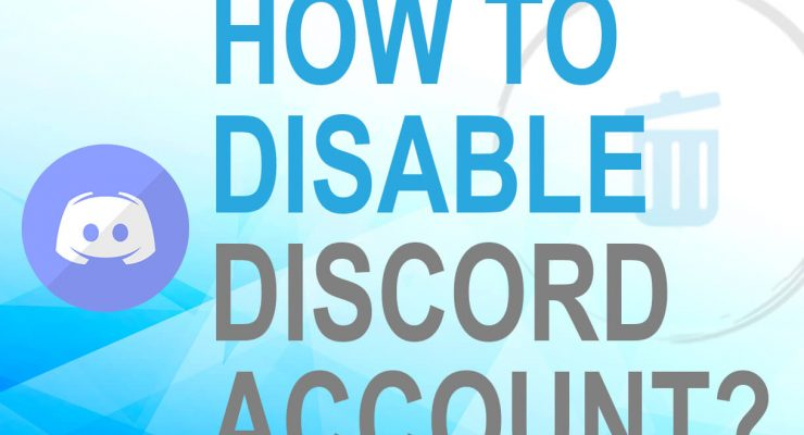 Disable Discord account