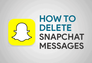 Feature Image for How To Delete Snapchat Messages