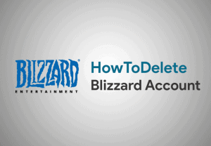 Delete Blizzard Account