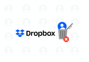 How to delete a Dropbox account