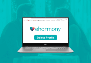 How to delete an eHarmony account