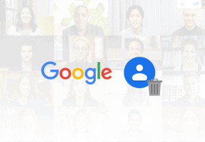 How to delete contacts from Google account