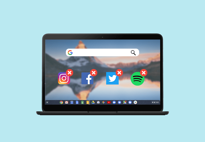 How to uninstall apps on Chromebook