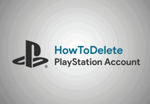 how to delete playstation
