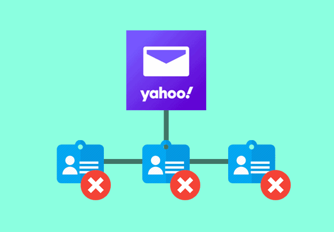 Delete Yahoo Mail contacts