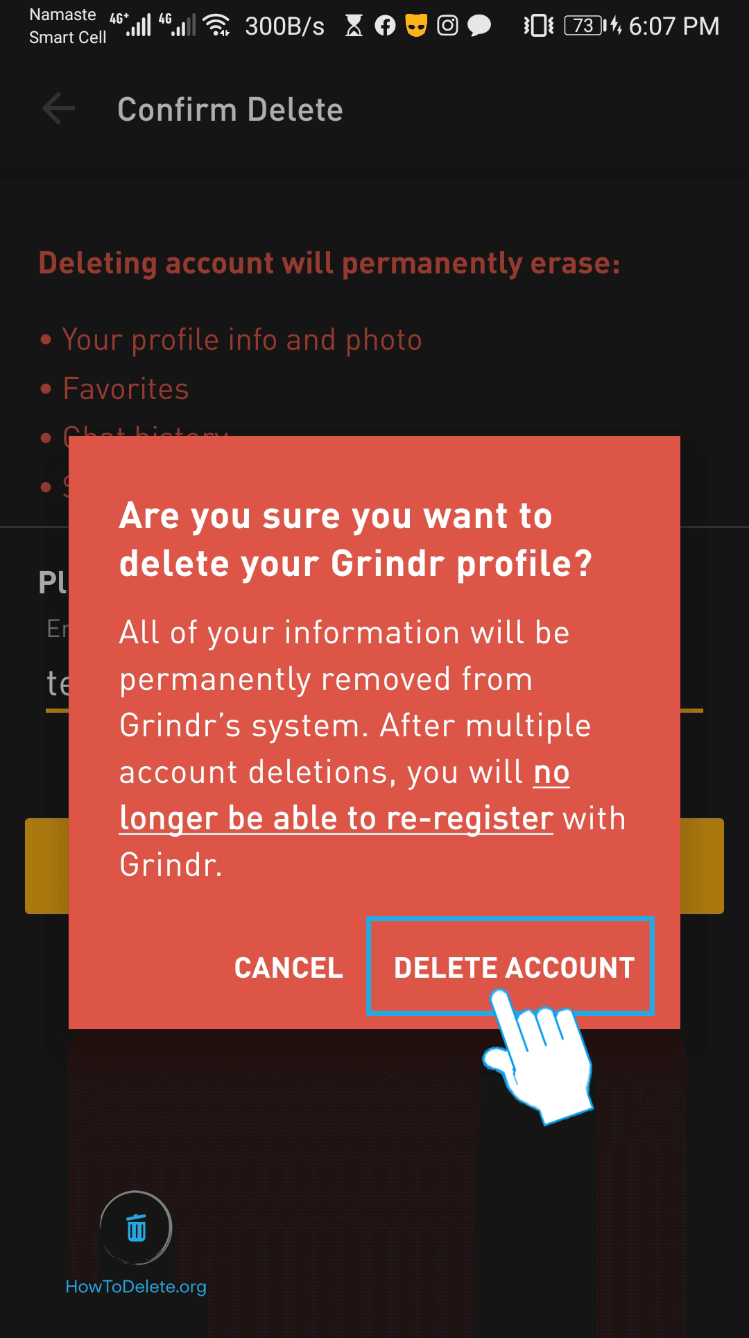 How to Delete a Grindr Account | Android or iPhone