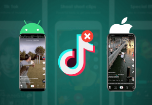 Delete Tiktok on Android and iPhone