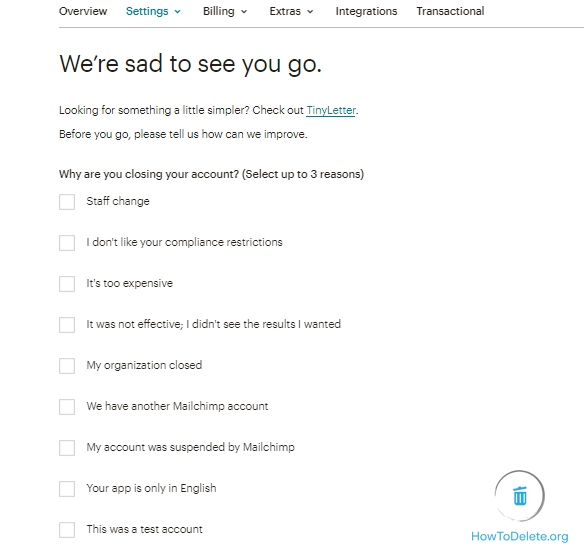 Fill up the survey