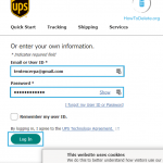 How to Delete my UPS Account