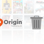 Delete EA Origin account